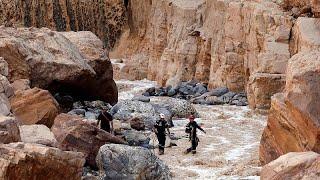 البتراء الأردنية تستعيد نشاطها بعد أسوأ فيضانات شهدتها من عقود …