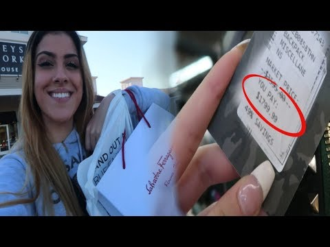 $1000 Dollar Shopping Spree! Returning To The Outlets