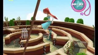 Winx Club (PS2) - mini-game glitches