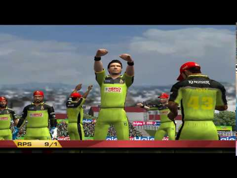 EA Sports Cricket 17#Ipl 2017●RPS vs RCB●Royal Challengers Bangalore vs Rising Pune Supergiants