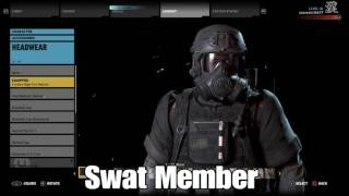 Top 5 Outfits In Tom Clancy