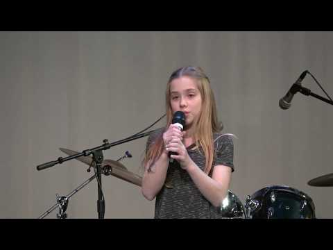 Coldplay's 'Fix You' cover by Grace at Seven Bridges Middle School Talent Show
