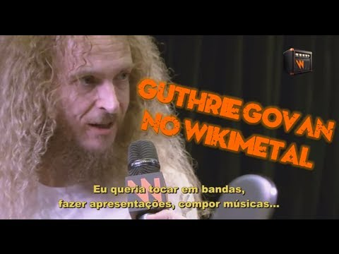 Guthrie Govan: Entrevista no Wikimetal
