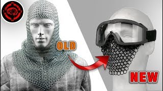 Flexible and Durable Airsoft Face Protection DIY Tutorial