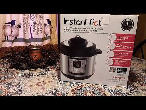Instant Pot 6 in 1 Multi Use Pressure Cooker | UNBOXING