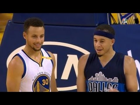 Stephen Curry vs Seth Curry BROTHERS Duel...
