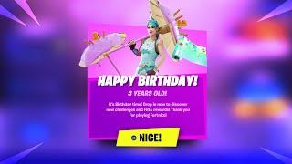 Fortnite Birthday Event (FREE REWARDS)