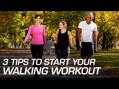 3 Tips to Start Your Walking Workout
