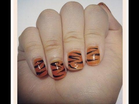 Nail art design how i do tiger stripes for beginners youtube nail art design how i do tiger stripes for beginners prinsesfo Choice Image