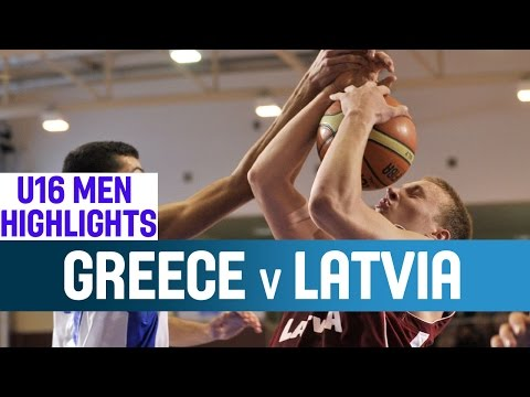 U16 ΕΘΝΙΚΗ ΑΝΔΡΩΝ | Video : Στιγμιότυπα Ελλάδα-Λετονία 67-74