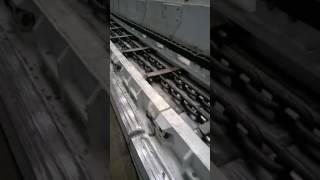 Испытания скребкового конвейера КСЮ381