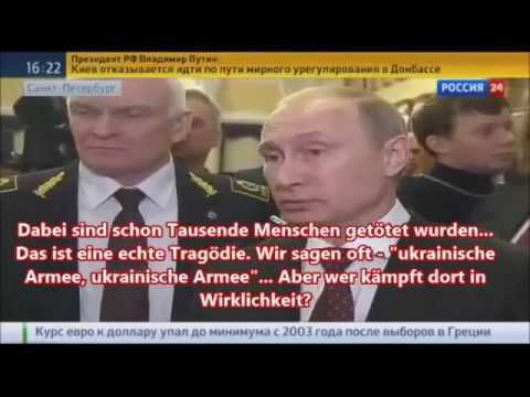 Aber Angela Merkel denkt nicht Putin redet Klartext   NATO bereits in der Ukraine 27 1 15