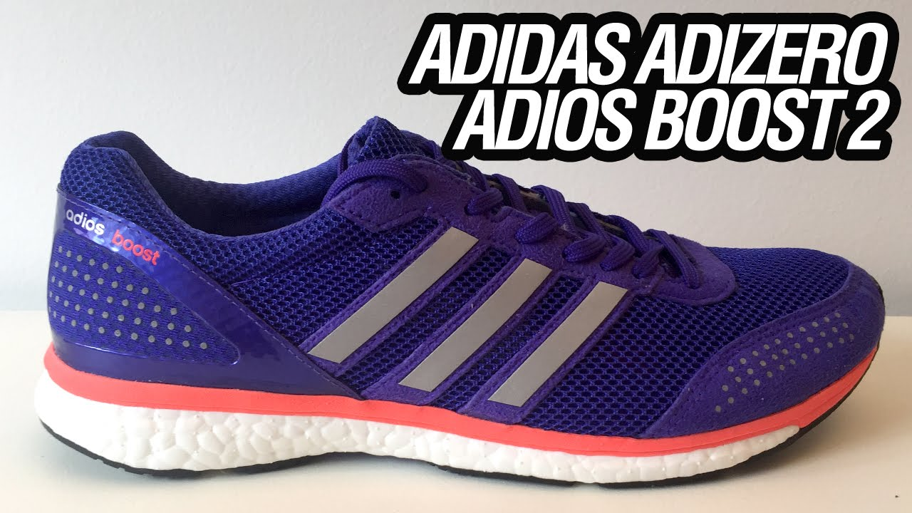 new product d8f30 85d1b adidas Adizero Adios Boost 2 (Unboxing)