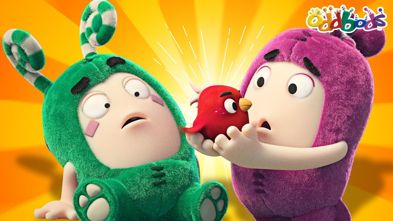 Oddbods | Bye Bye Birdie | Funny Cartoons For Children