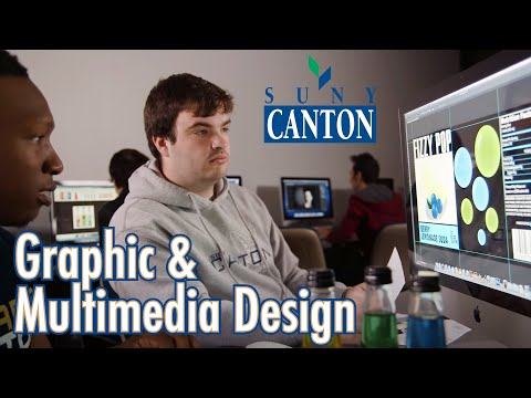 Graphic and Multimedia Design Program at SUNY Canton