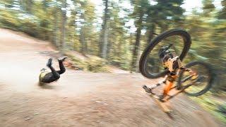 Backflip Challenge on Downhillbike  SickSeries #57