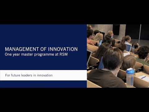 MSc in Management of Innovation