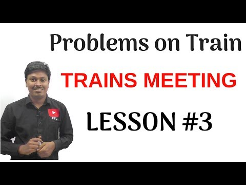Problems On Train_Lesson-3(Two Trains Meeting)