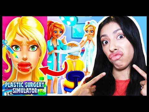 SHE HAS KYLIE JENNER LIPS! - PLASTIC SURGERY SIMULATOR - App Games