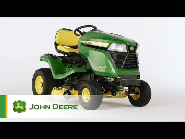 John Deere Rasentraktor X354