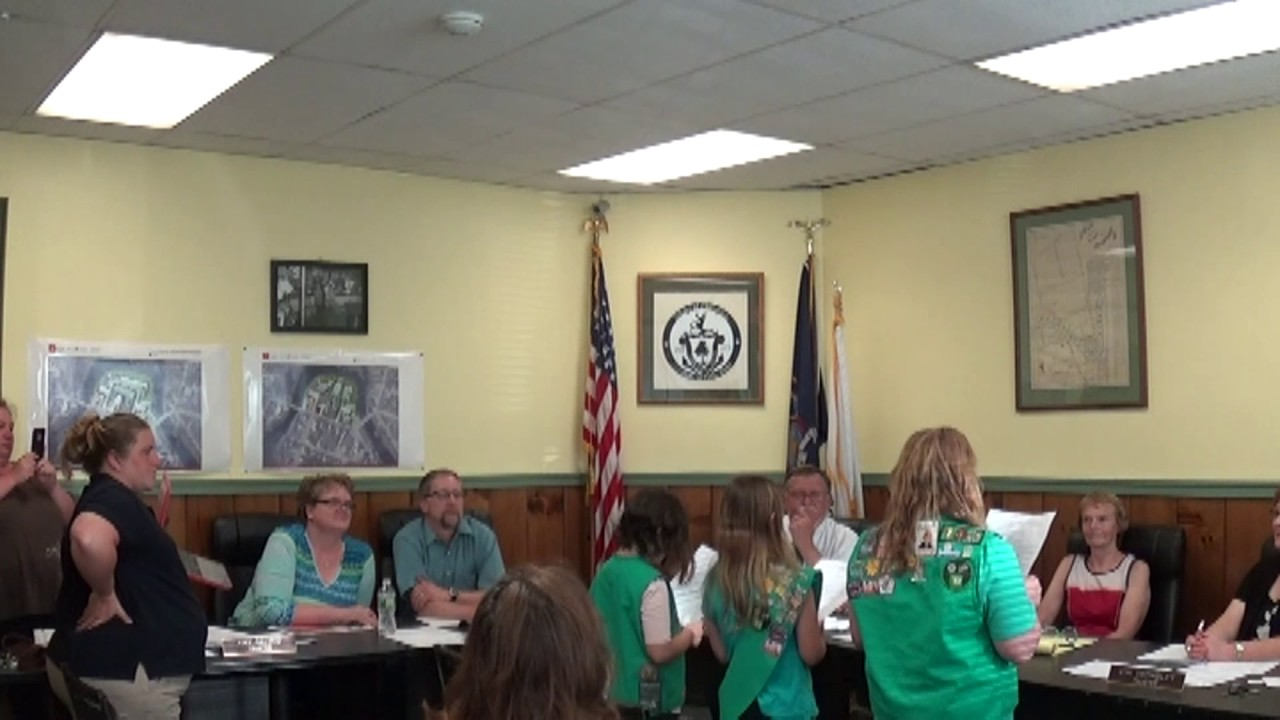 Champlain Village Board Meeting  6-12-17