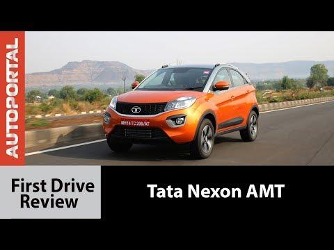 Tata Nexon AMT - First Drive Review - Autoportal