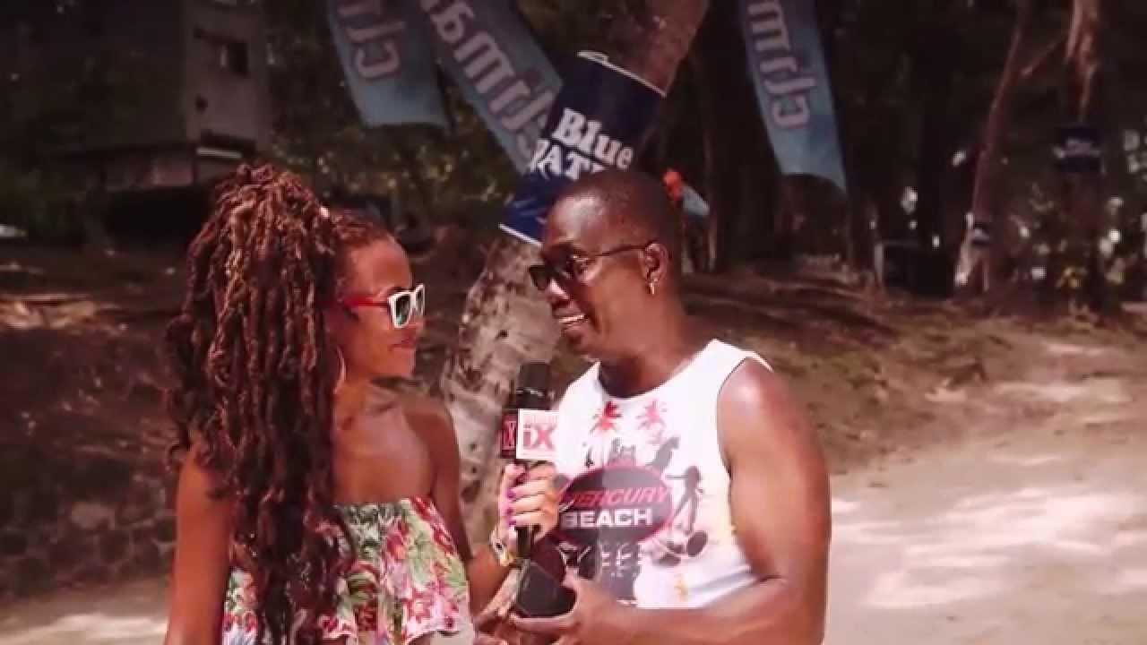 Island Xclusive: Mercury Beach St Lucia - YouTube