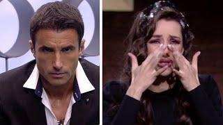 La gran humillación a Adara de Hugo Sierra y Gianmarco en GH VIP de telecinco y expulsión de Estela