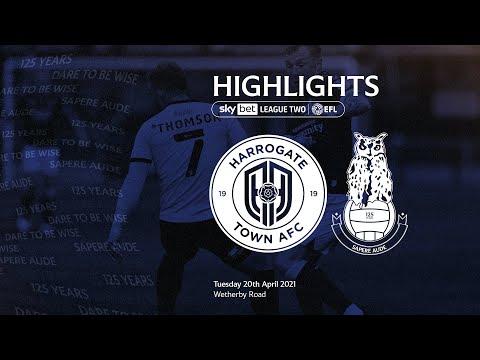 Harrogate Oldham Goals And Highlights
