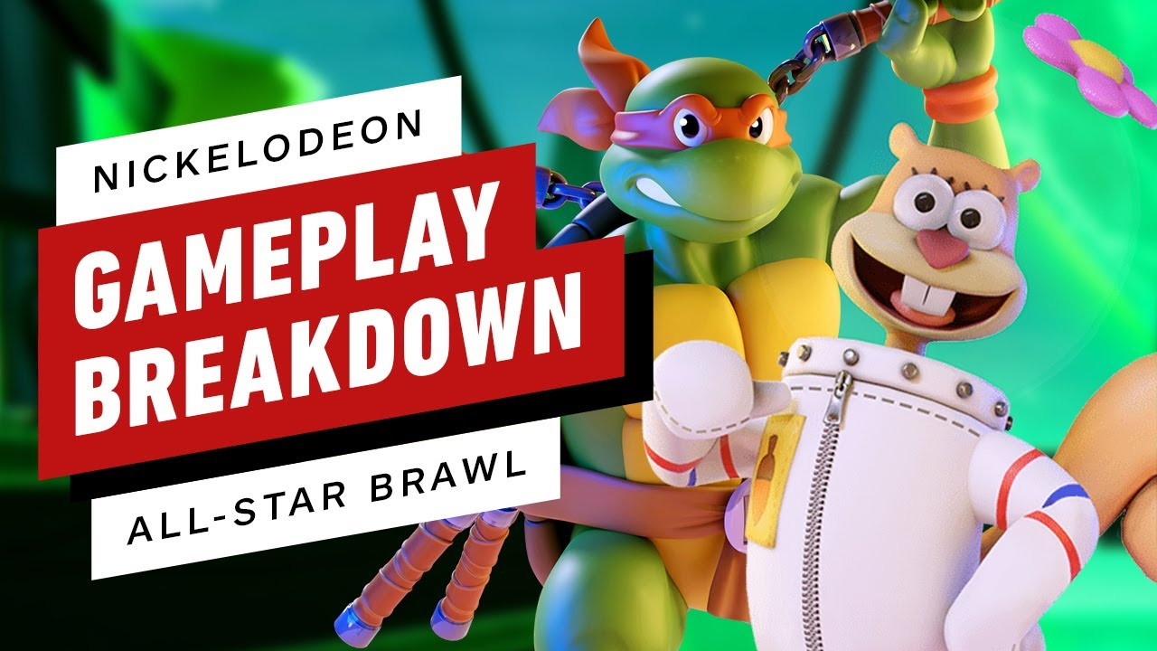 Nickelodeon starts an All-Star Brawl on Xbox, PlayStation and Switch