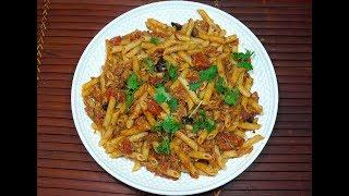 ? Tuna Tomato Pasta - Quick n Easy Tuna Pasta - Mid-week meals - Spicy Tuna Pasta Sauce