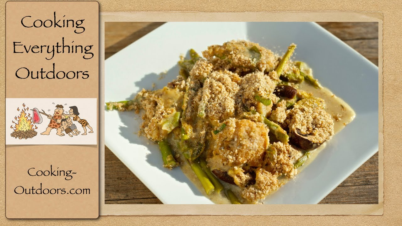 Peppery Chicken And Asparagus Cast Iron Skillet Recipe  Cooking Outdoors   Gary House