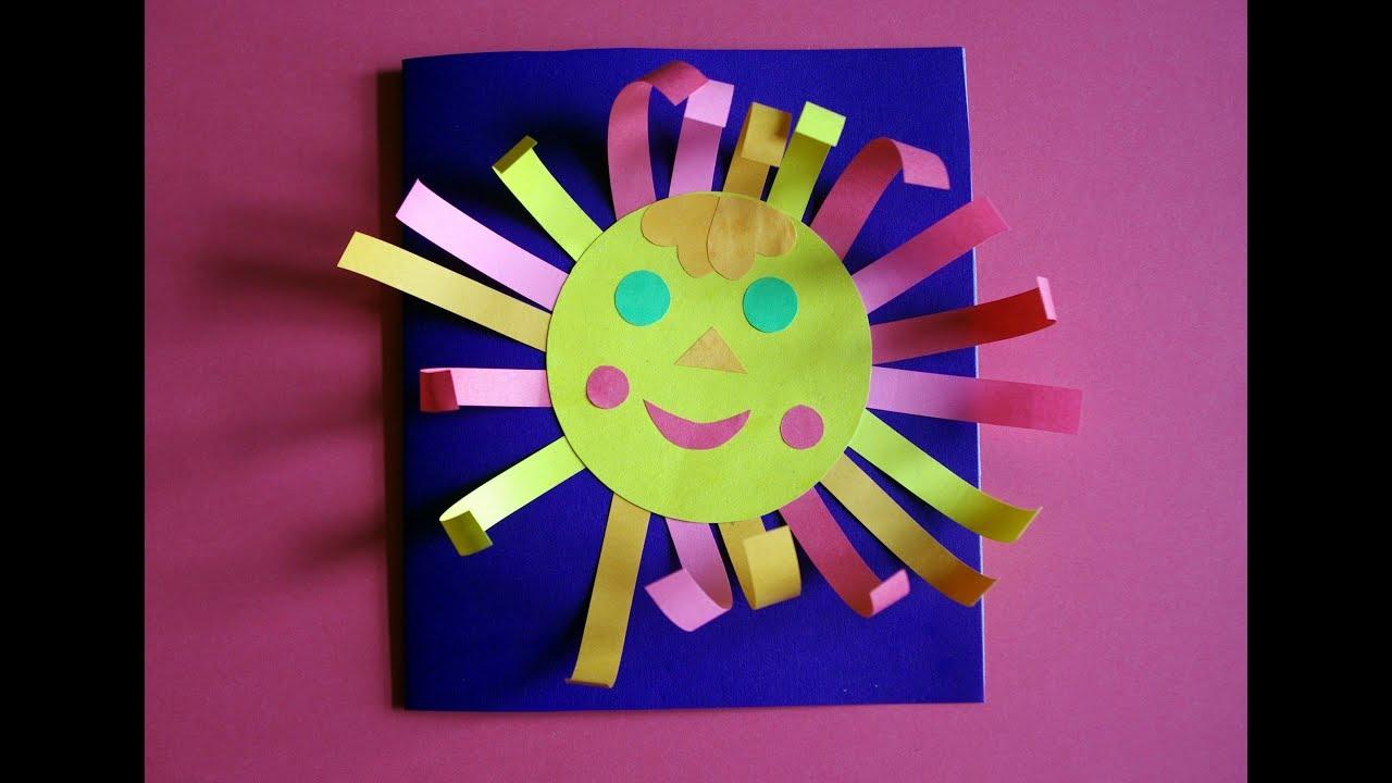 Объемное солнышко своими руками фото 752