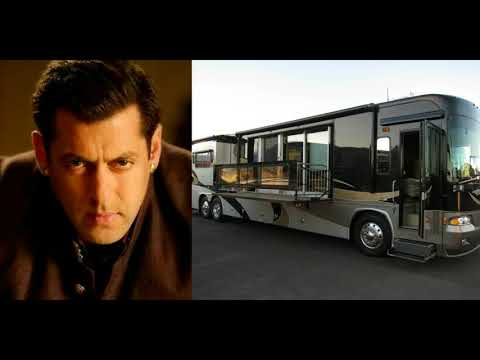 Bollywood stars & their vanity vans