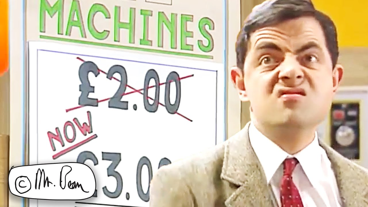 Bad LUCK   Mr Bean Funny Clips   Mr Bean Official