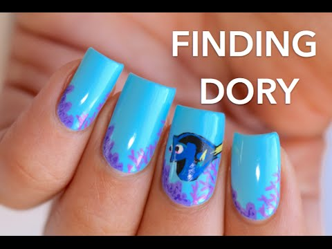 Finding dory nail art banicured youtube finding dory nail art banicured prinsesfo Gallery