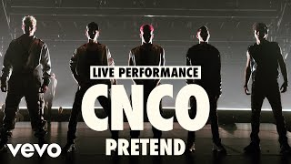CNCO - Pretend (Live) | Vevo LIFT Live Sessions