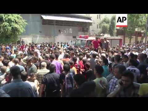 Hamas militants killed in Israeli airstrike on Gaza City; mosque's minaret hit in Khan Younis
