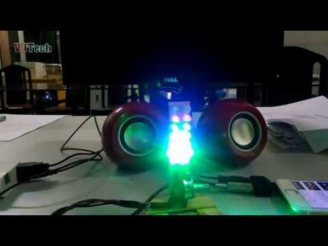 How Make Led Blink To Music With IC AN6884
