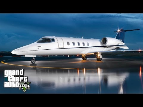GTA 5 REAL LIFE MOD #231 MY FIRST BUSINESS PRIVATE JET!