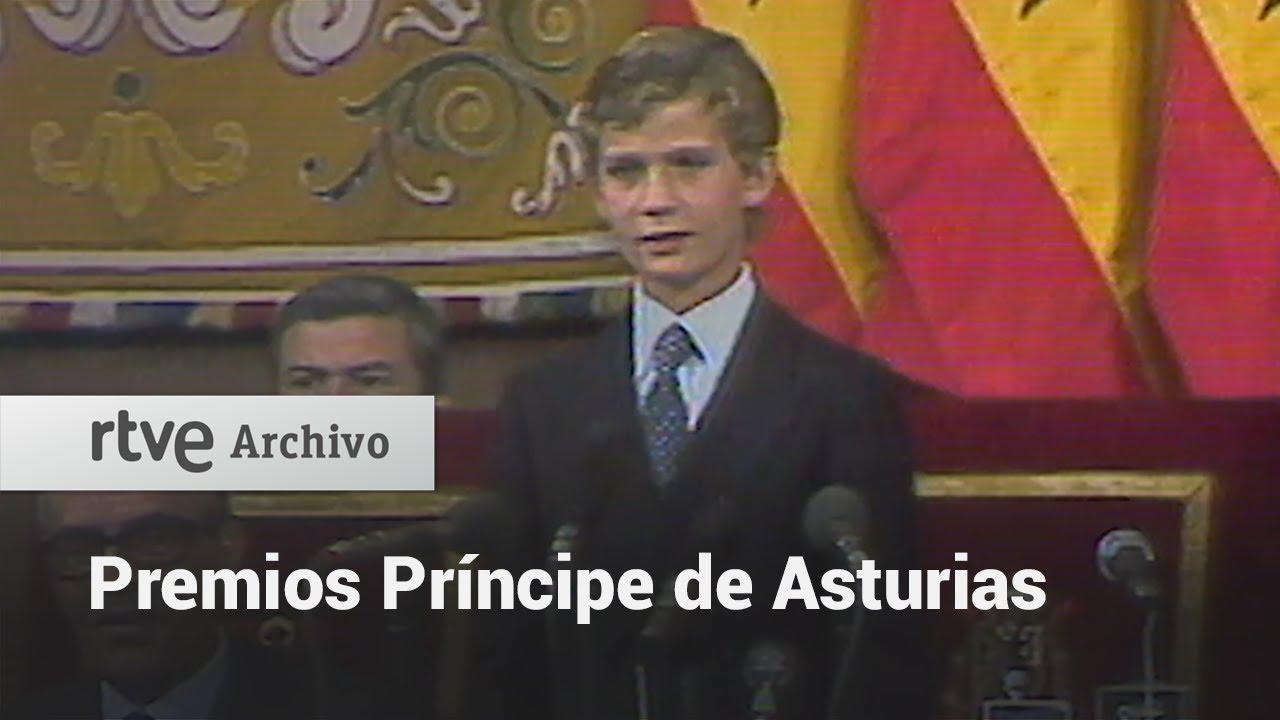 Primer Discurso Del Rey Felipe Vi En Los Premios Príncipe De Asturias Rtve Archivo