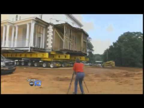 Historic Greenville House Moving