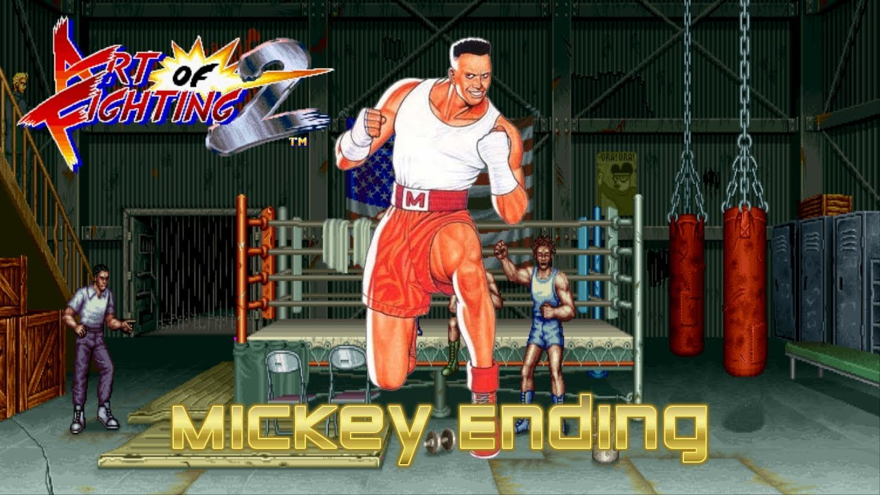 Art Of Fighting 2 Mickey Rogers Ending Snes Youtube