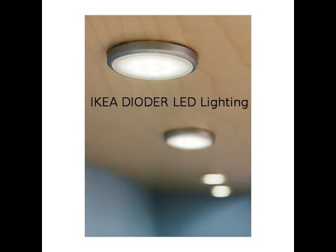 IKEA Dioder Wireless Hack Mod (LED Strip lights) backli ...