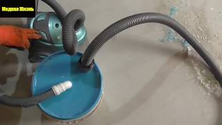 Как за 2 минуты убрать 10кг пыли с помощью обычного пылесоса