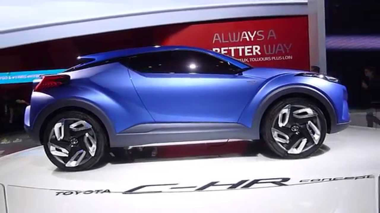toyota suv concept car hybride au salon de l 39 automobile 2014 youtube. Black Bedroom Furniture Sets. Home Design Ideas