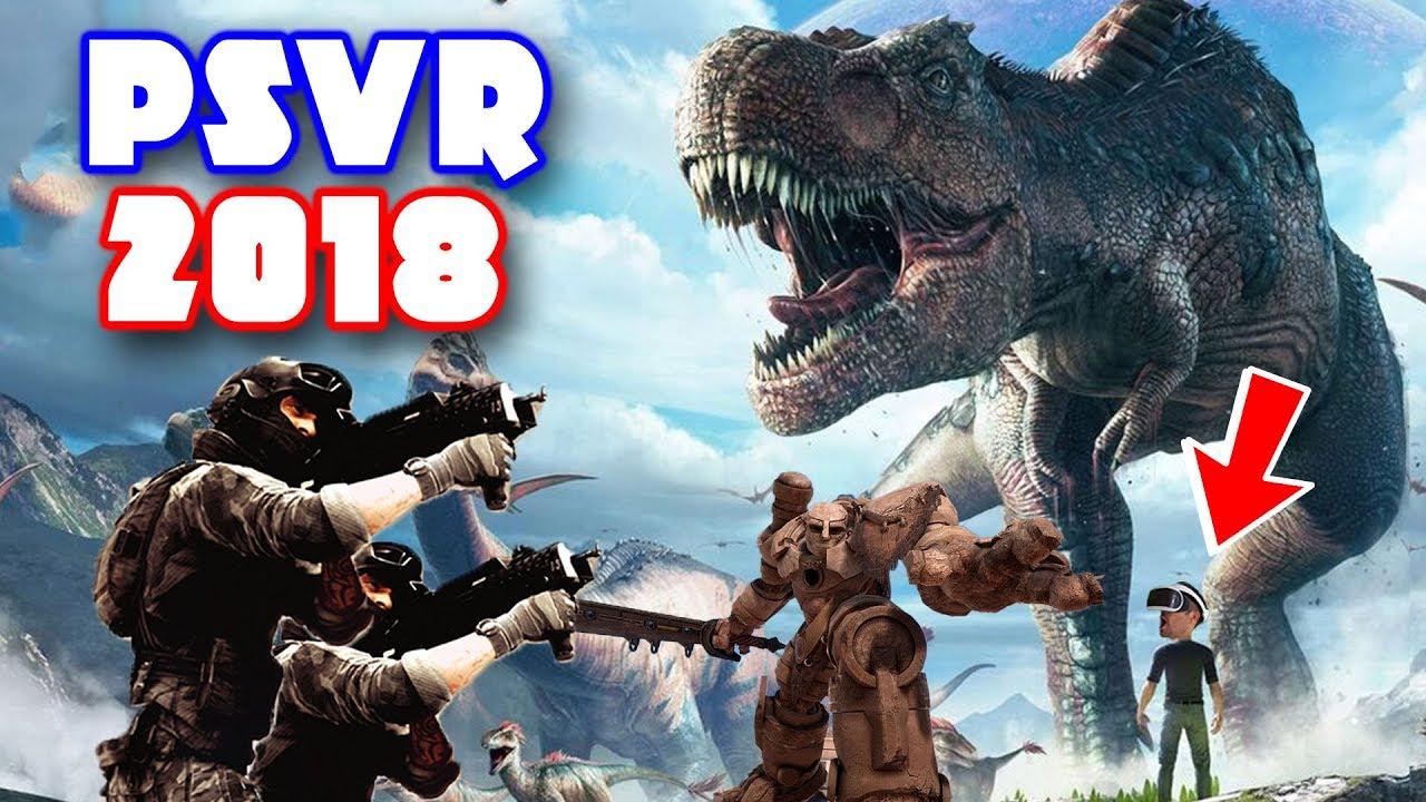 Nuevos Juegos De Realidad Virtual Para 2018 Playstation Vr Psvr