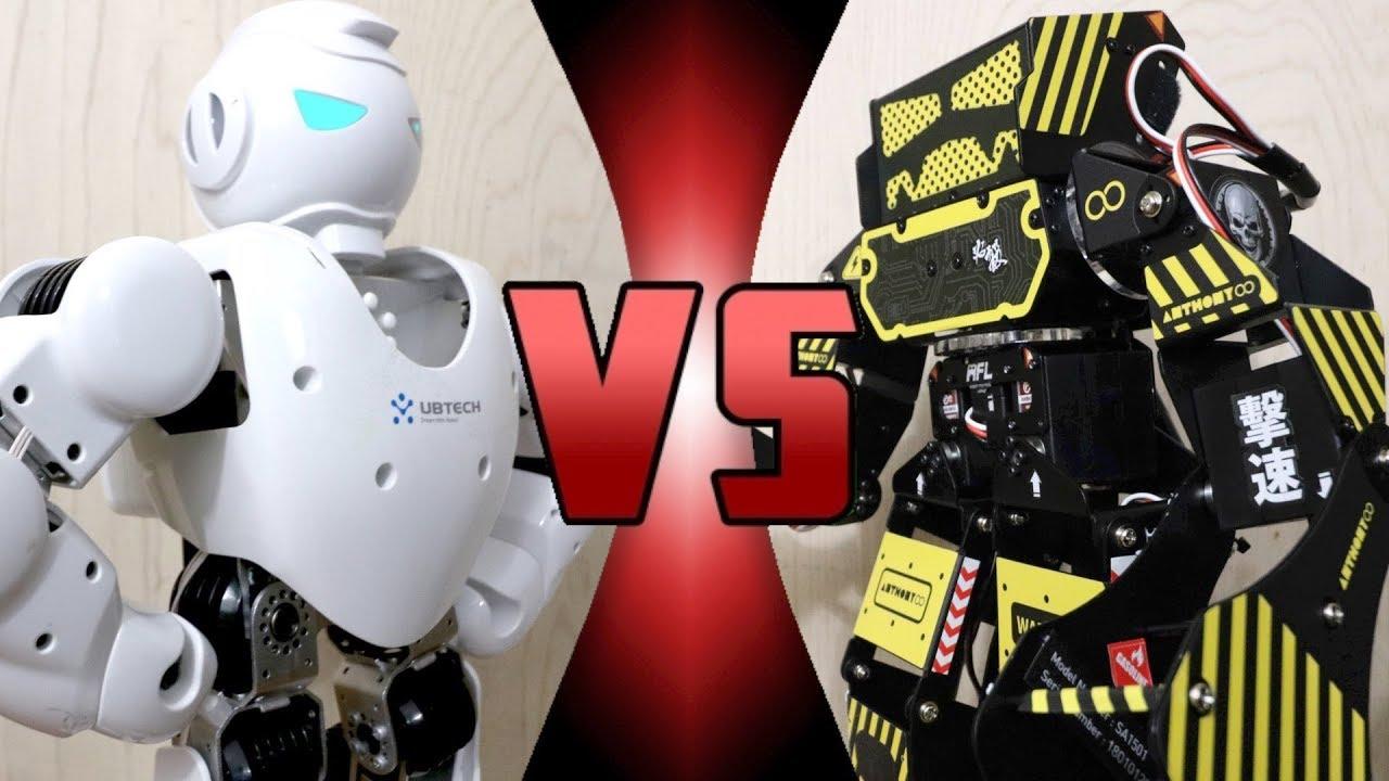 ROBOT DEATH BATTLE! - Alpha 1S VS Super Anthony (ULTIMATE ROBOT DEATH  BATTLE!)