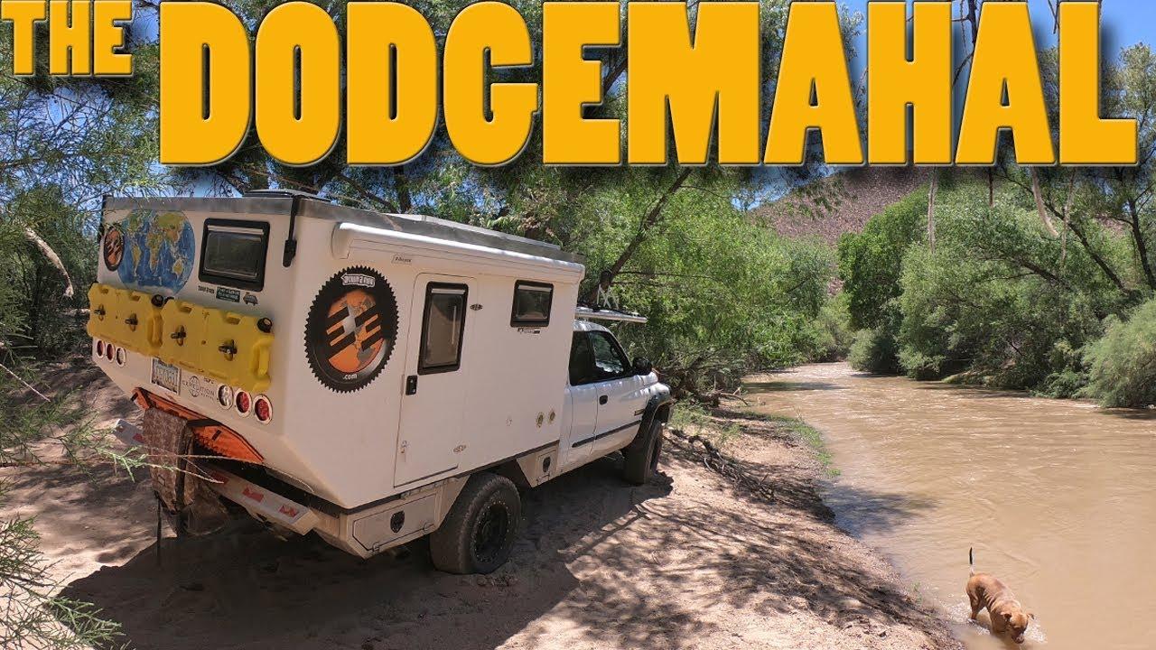 EP:02 - Shakedown run in the Dodgemahal 4x4 Truck Camper
