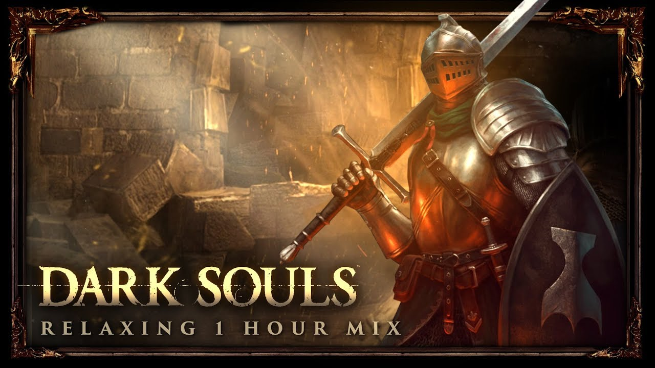Hour of relaxing dark souls music mixed with ambient